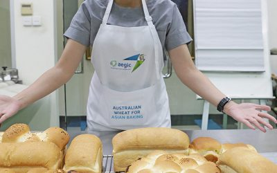 Behind the scenes: Asian bread baking