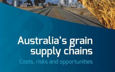 Australia's grain supply chains: costs, risks and opportunities