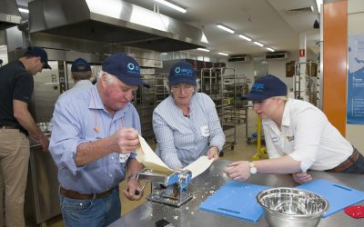 Growers gain good grasp of grain quality on National Agriculture Day